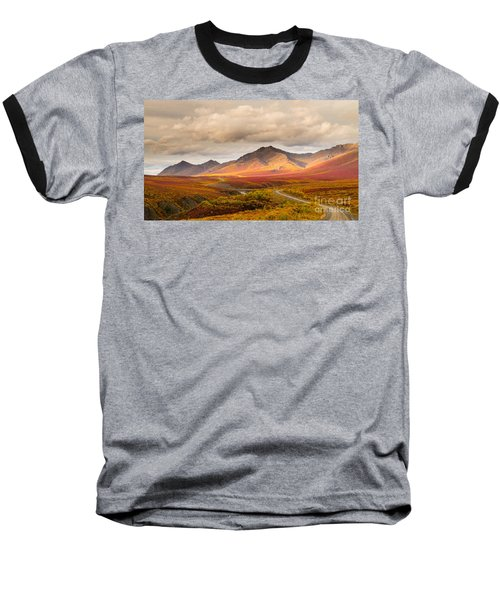 Tombstone Territorial Park Yukon Baseball T-Shirt by Rod Jellison