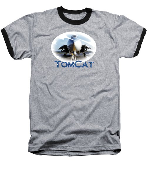 Baseball T-Shirt featuring the photograph Tomcat by DJ Florek