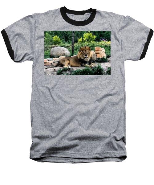 Tomo, The King Of Beasts Baseball T-Shirt
