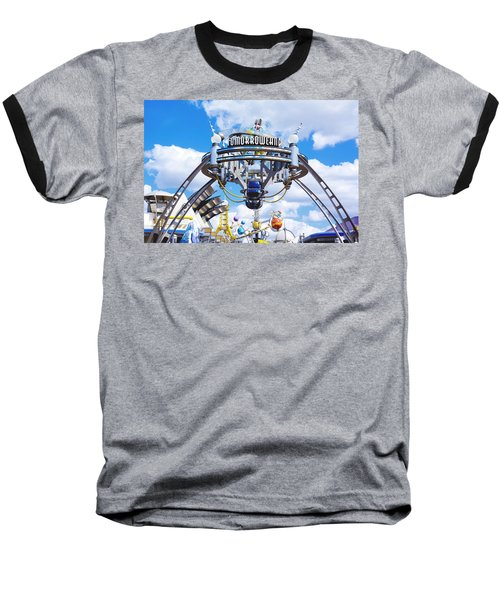 Baseball T-Shirt featuring the photograph Tomorrowland by Greg Fortier
