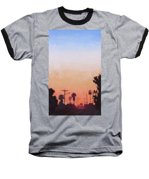 Tonal Hollywood Baseball T-Shirt