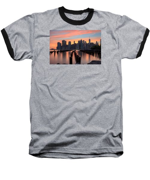 Tones Baseball T-Shirt by Anthony Fields