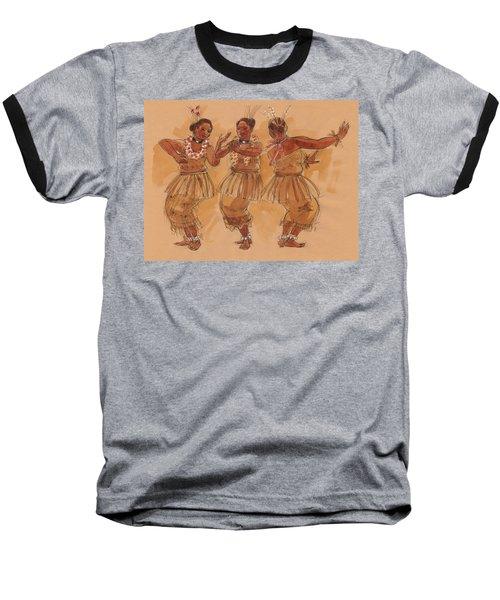 Tonga Dance From Niuafo'ou Baseball T-Shirt