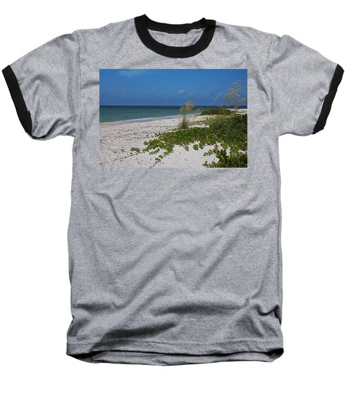 Baseball T-Shirt featuring the photograph Too Much Space Between Us by Michiale Schneider