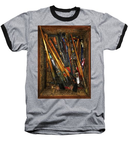 Tools Of The Painter Baseball T-Shirt by Jame Hayes