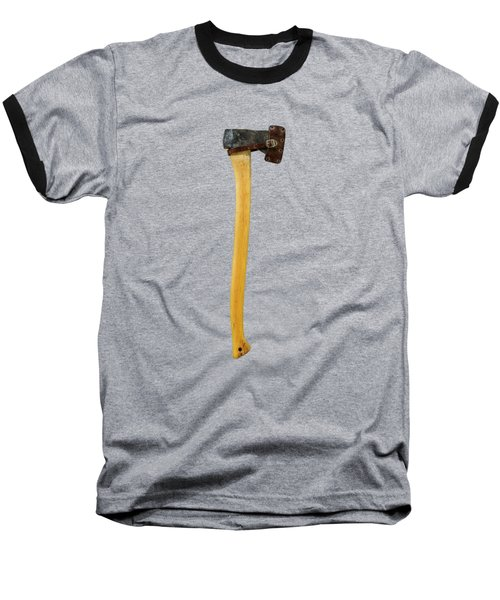 Baseball T-Shirt featuring the photograph Tools On Wood 11 On Bw by YoPedro