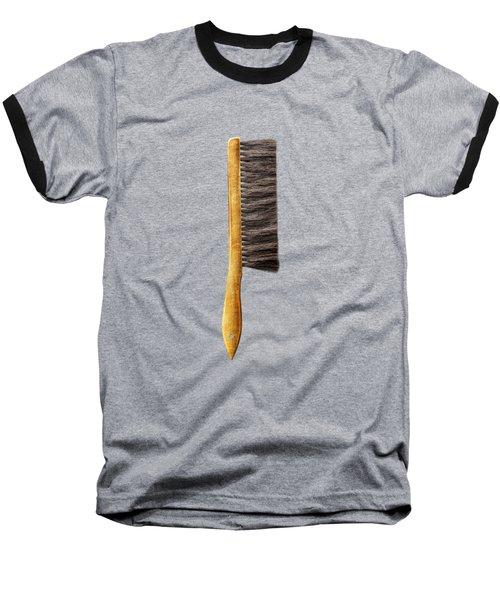 Tools On Wood 52 On Bw Baseball T-Shirt