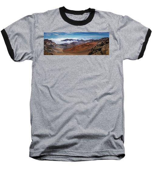 Top Of Haleakala Crater Baseball T-Shirt