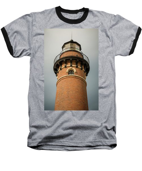 Baseball T-Shirt featuring the photograph Top Of Little Sable Point Lighthouse by Adam Romanowicz