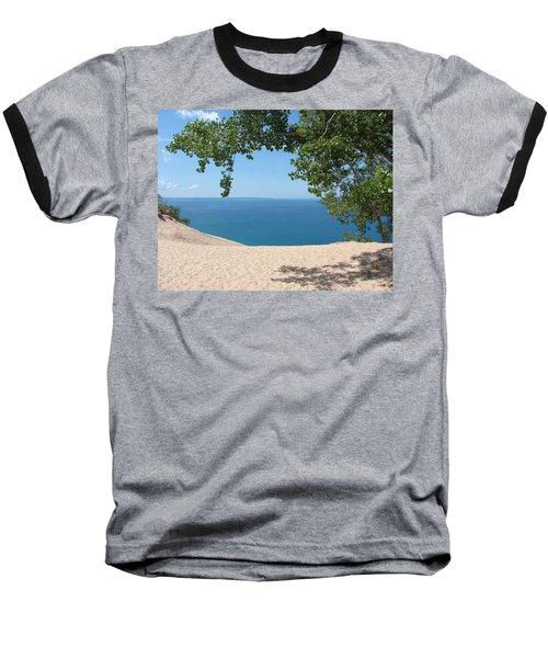 Top Of The Dune At Sleeping Bear Baseball T-Shirt