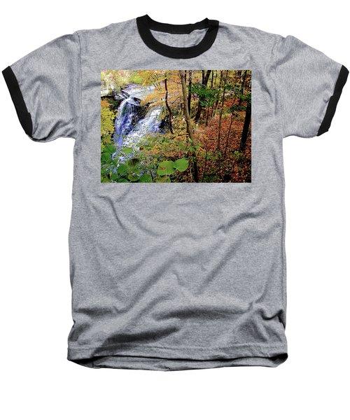 Top Of The Falls Baseball T-Shirt