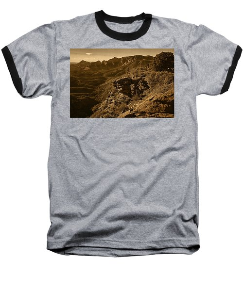 Top Of The Hill Baseball T-Shirt