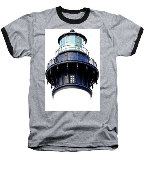 Top Of The Lighthouse Baseball T-Shirt by Shelia Kempf