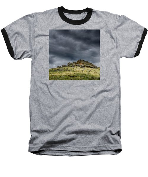 Top Of The Mountain Baseball T-Shirt by Mary Angelini