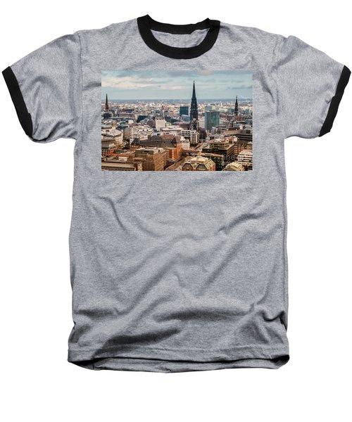 Top View Of Hamburg Baseball T-Shirt