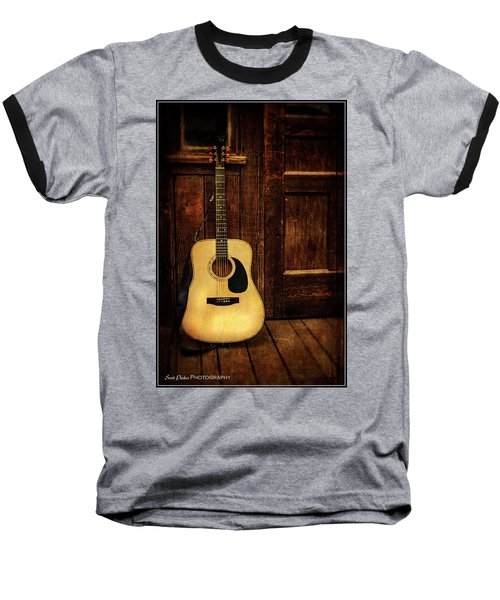 Topanga Guitar Baseball T-Shirt