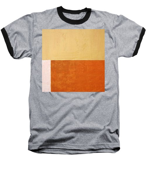 Topaz Pink Orange Baseball T-Shirt