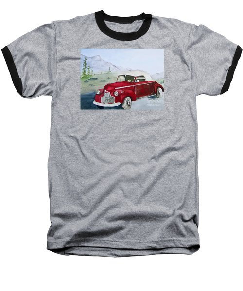 Topless 1940 Chevy Baseball T-Shirt