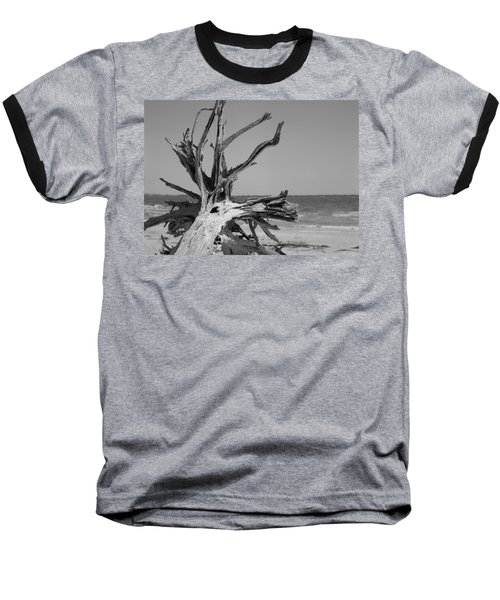 Toppled Tree Baseball T-Shirt