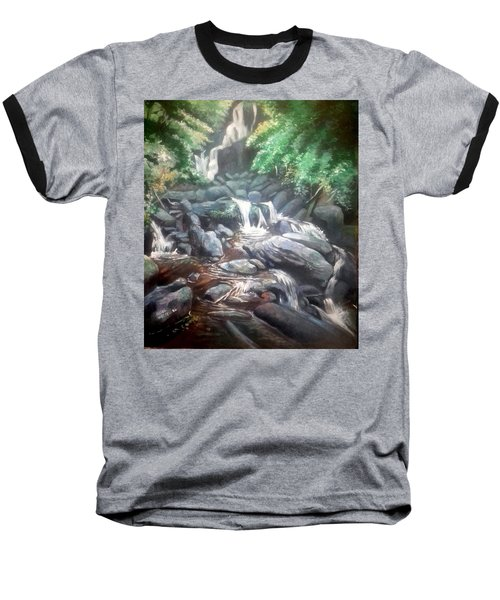 Torc Waterfall County Kerry Ireland Baseball T-Shirt