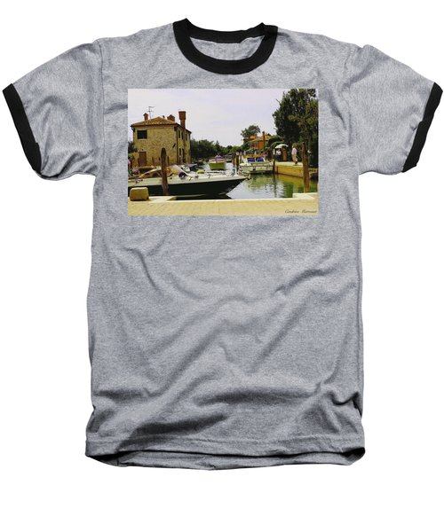 Baseball T-Shirt featuring the photograph Torcello Island by Cendrine Marrouat