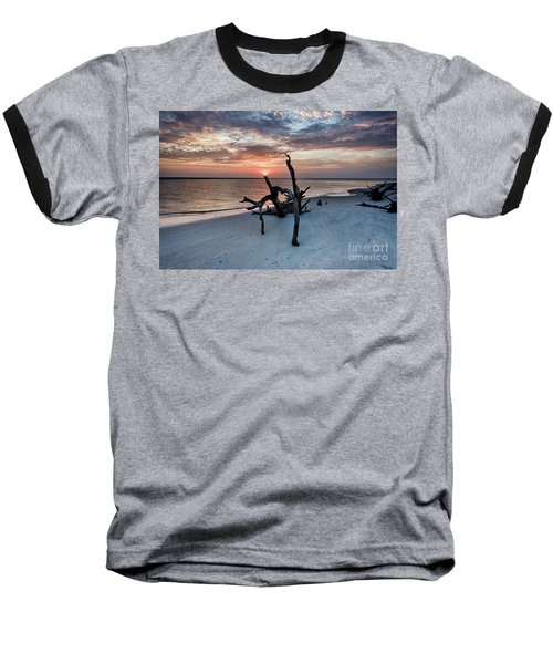 Torch Baseball T-Shirt by Robert Loe