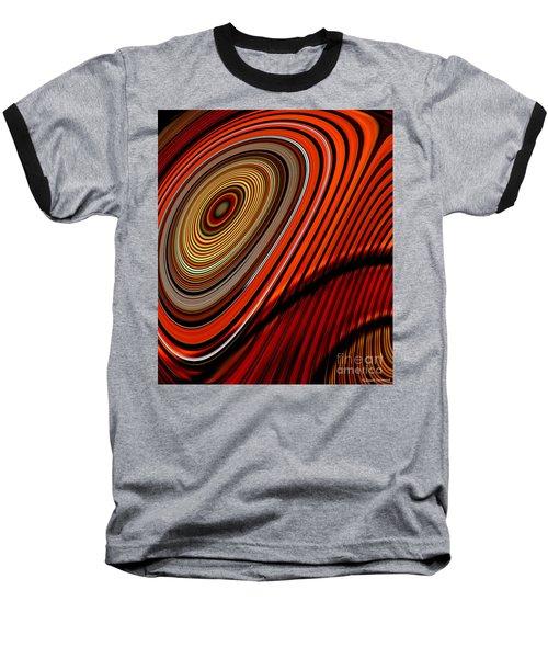 Tormented Eye Baseball T-Shirt by Thibault Toussaint