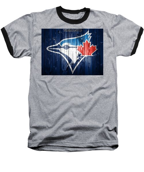 Toronto Blue Jays Barn Door Baseball T-Shirt