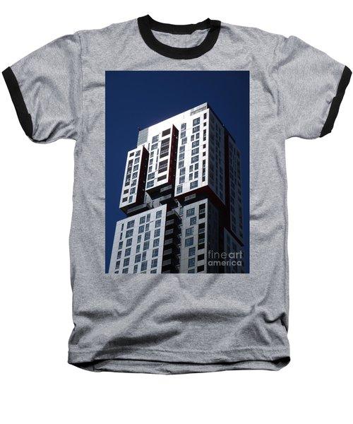 Toronto Skyscrapers 6 Baseball T-Shirt by Randall Weidner