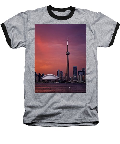 Toronto Sunset Baseball T-Shirt