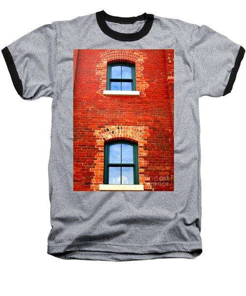 Toronto Windows Baseball T-Shirt by Randall Weidner