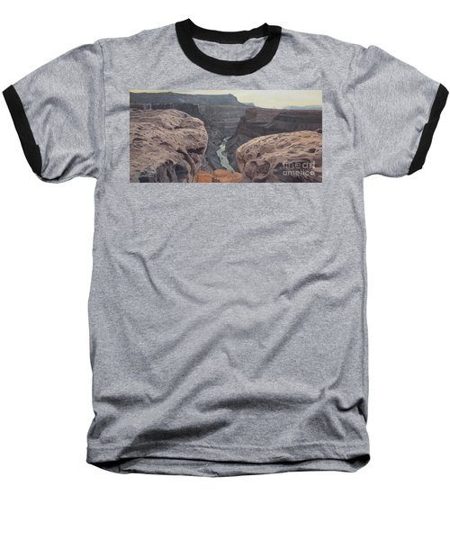 Toroweap Overlook Grand Canyon North Rim Baseball T-Shirt