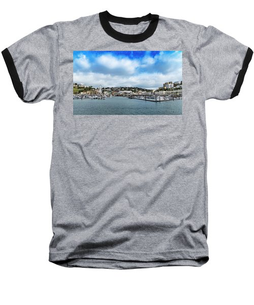 Baseball T-Shirt featuring the photograph Torquay Devon by Scott Carruthers