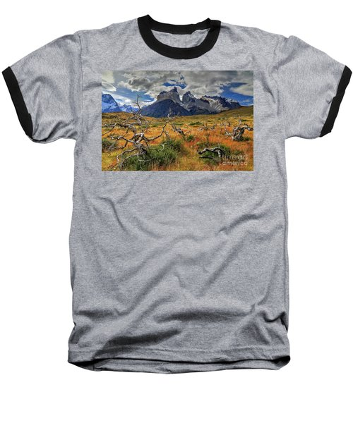 Torres Del Paine 18 Baseball T-Shirt