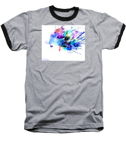 Baseball T-Shirt featuring the painting Tortured Ways by Denise Tomasura