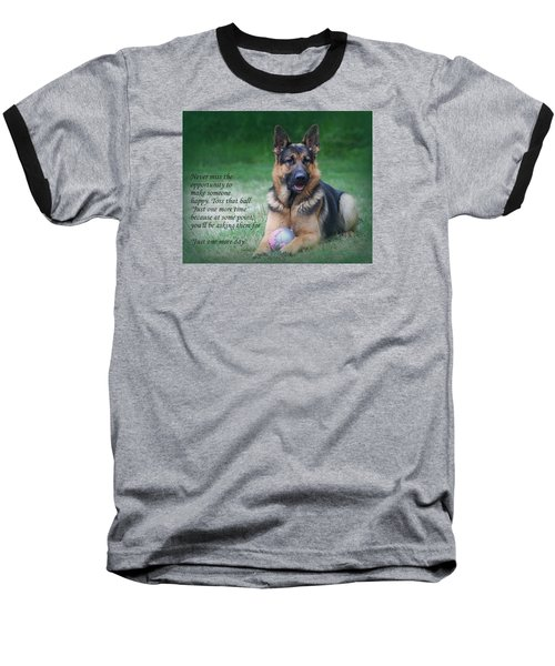 Toss That Ball Baseball T-Shirt