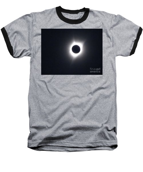 Total Eclipse 2017 Baseball T-Shirt