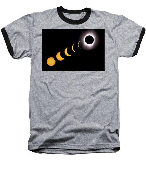 Total Eclipse Sequence, Aruba, 2/28/1998 Baseball T-Shirt