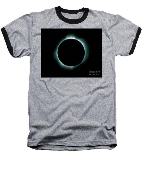 Total Solar Eclipse Baseball T-Shirt