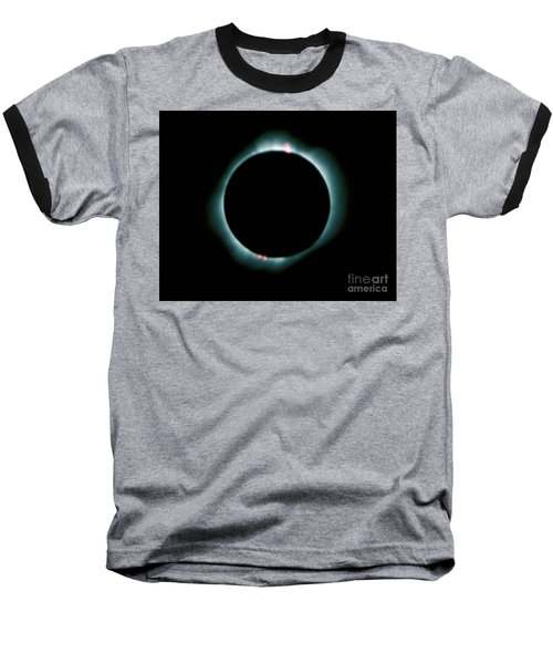 Total Solar Eclipse Baseball T-Shirt
