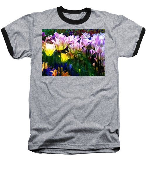 Totally Tulips Baseball T-Shirt