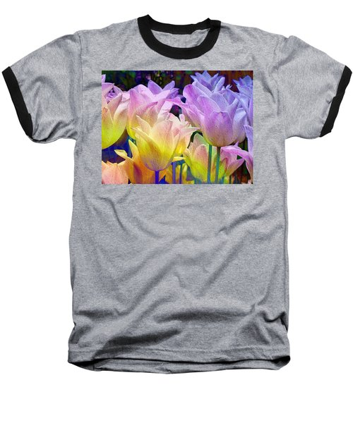 Totally Tulips Two Baseball T-Shirt