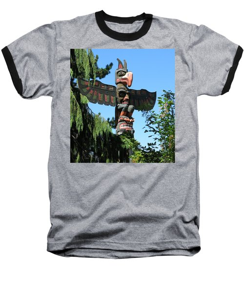 Totem Pole Baseball T-Shirt