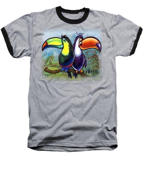 Toucans Baseball T-Shirt