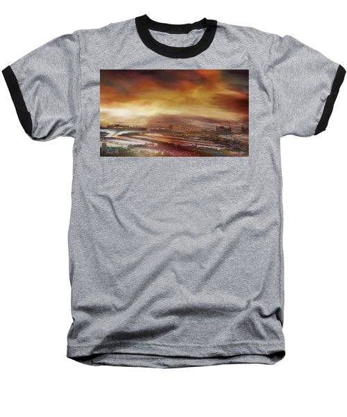 Touch By The Sunrise Baseball T-Shirt
