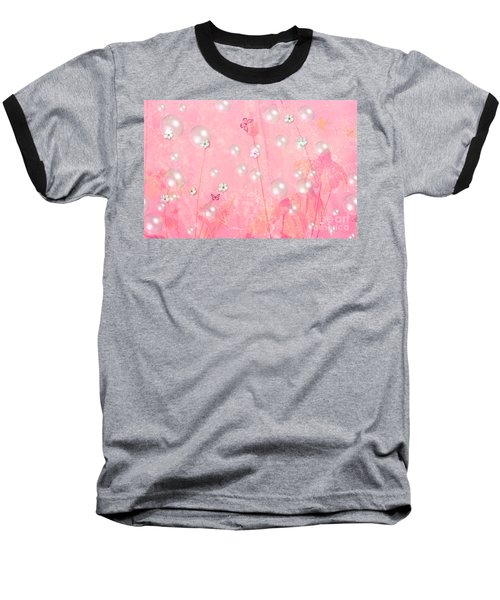 Touch Me In The Morning Baseball T-Shirt by Sherri's Of Palm Springs