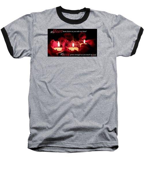 Touch My Soul Baseball T-Shirt by David Norman