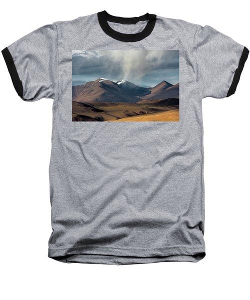Touch Of Cloud Baseball T-Shirt by Hitendra SINKAR
