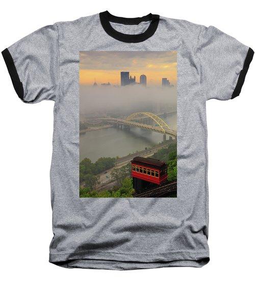 Touch Of Fog  Baseball T-Shirt