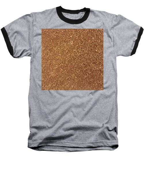 Touch Of Gold Baseball T-Shirt by Alan Casadei
